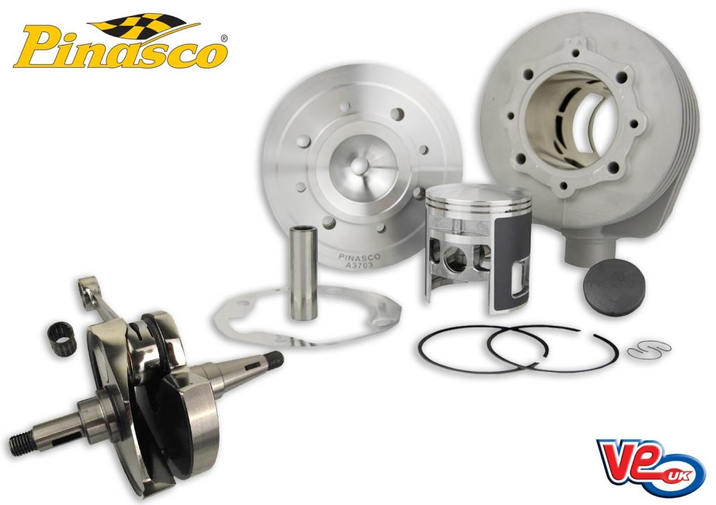 pinasco 190cc rx cylinder kit