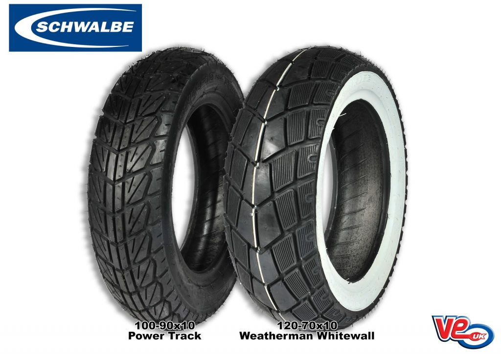 """new 10""""schwalbe tyre fitments"""