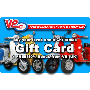 Buy your loved a a VE (UK) Christmas gift card with a 10% FREE bonus from VE