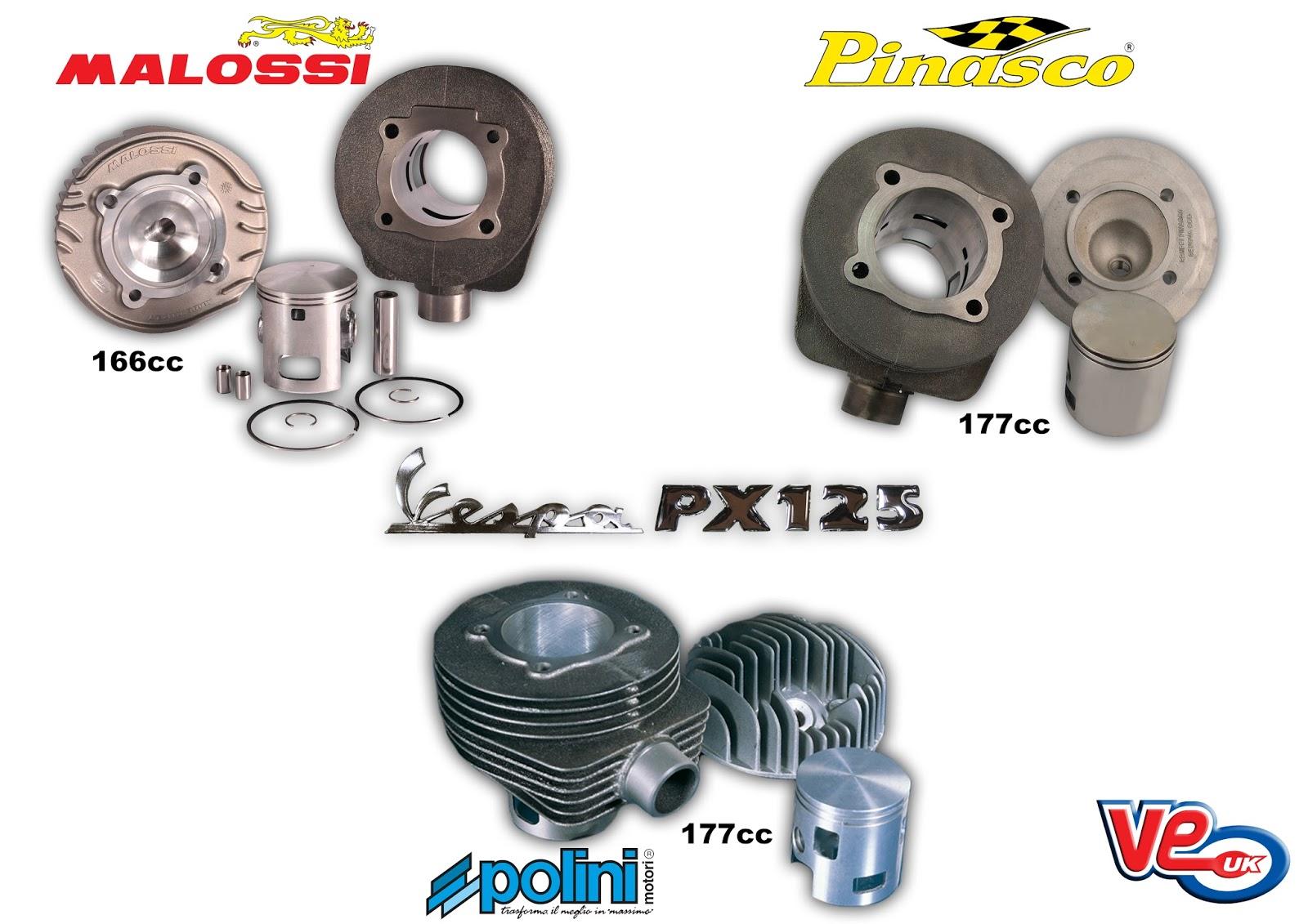 Vespa PX125 Performance Cylinder Kits