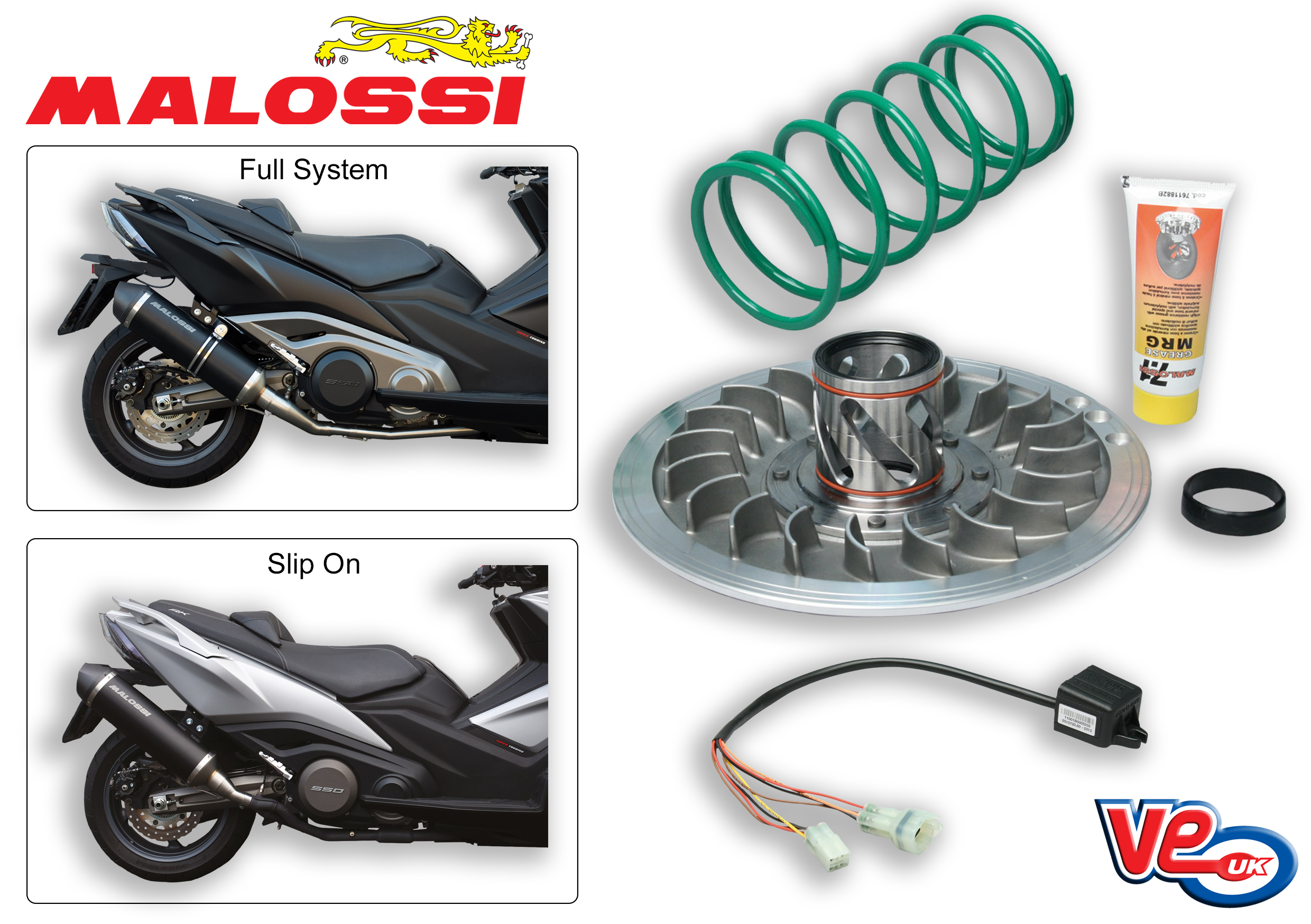 Kymco AK 550 Malossi Tuning Products