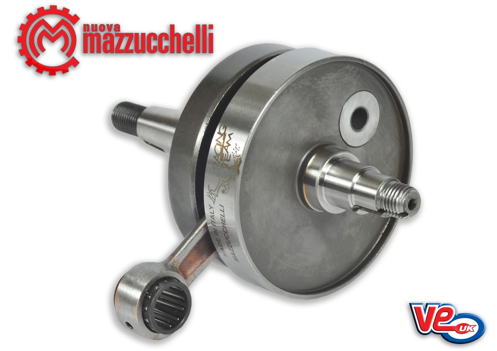 Mazzucchelli Reed Valve Crank for Vespa 90/100/125 Small Frame