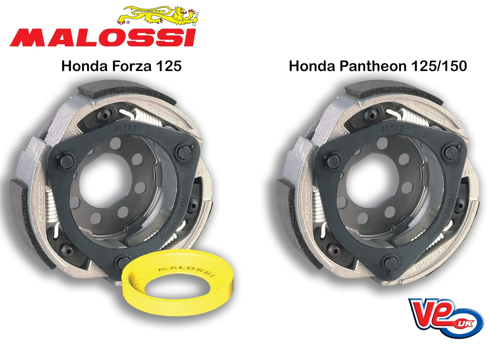 NEW Malossi Delta Clutches - Honda Maxi Scooters