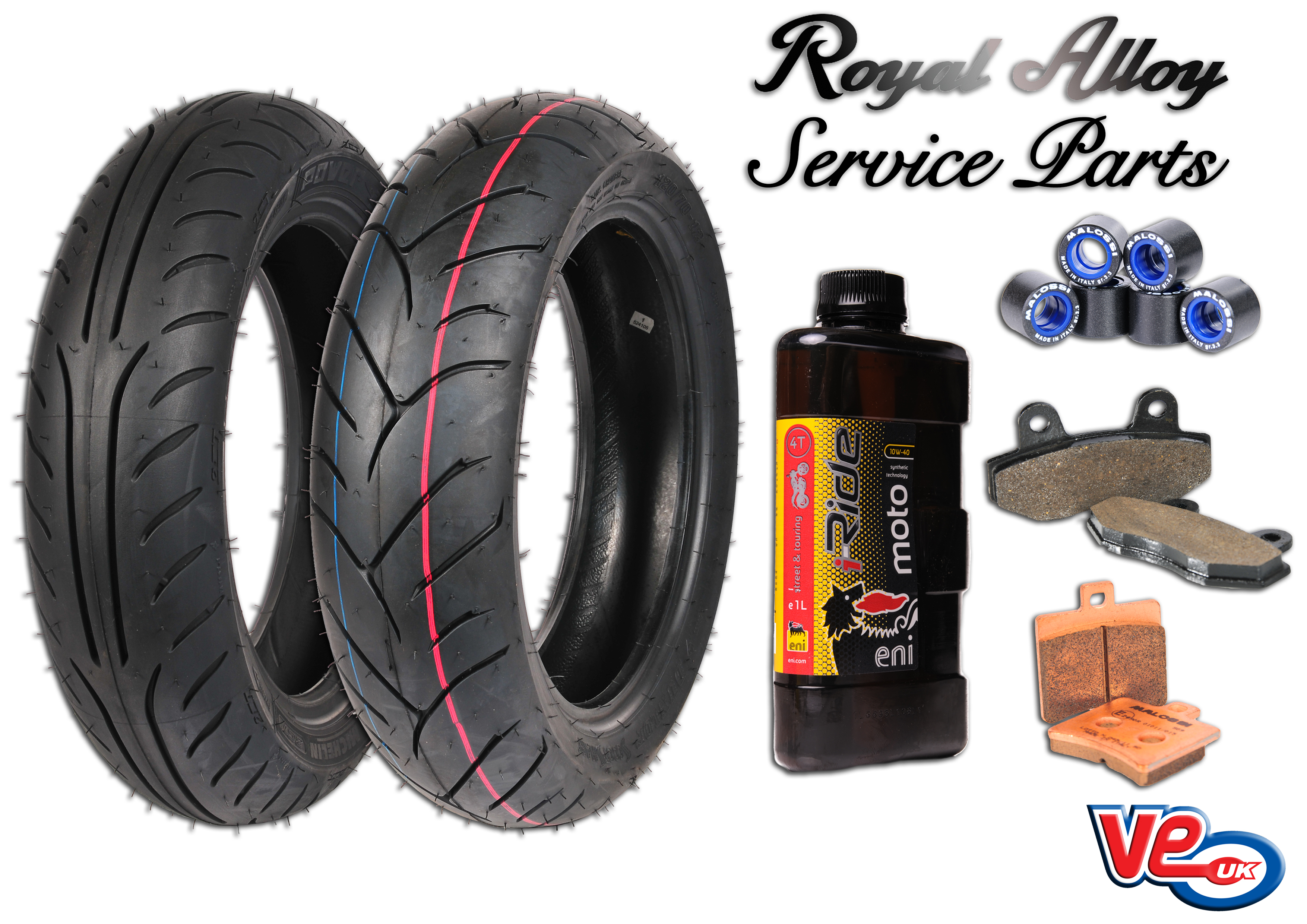 Royal Alloy 125 Service Parts