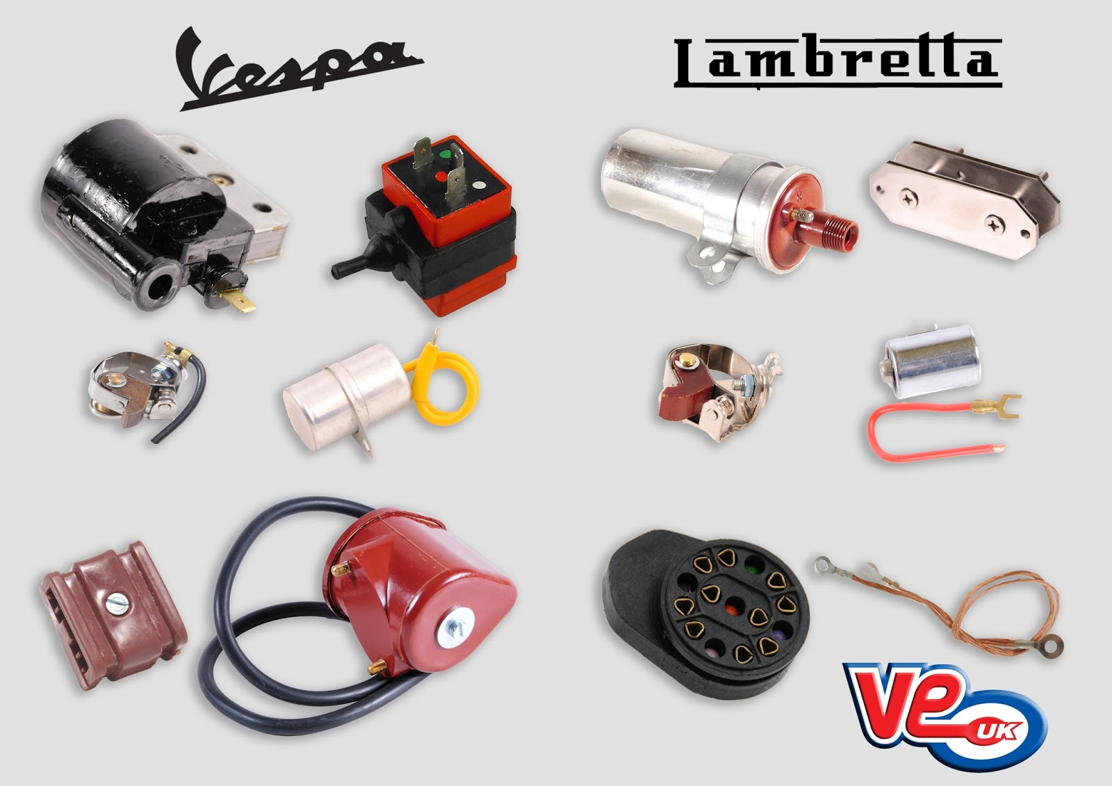 Classic Scooter Electrical Components