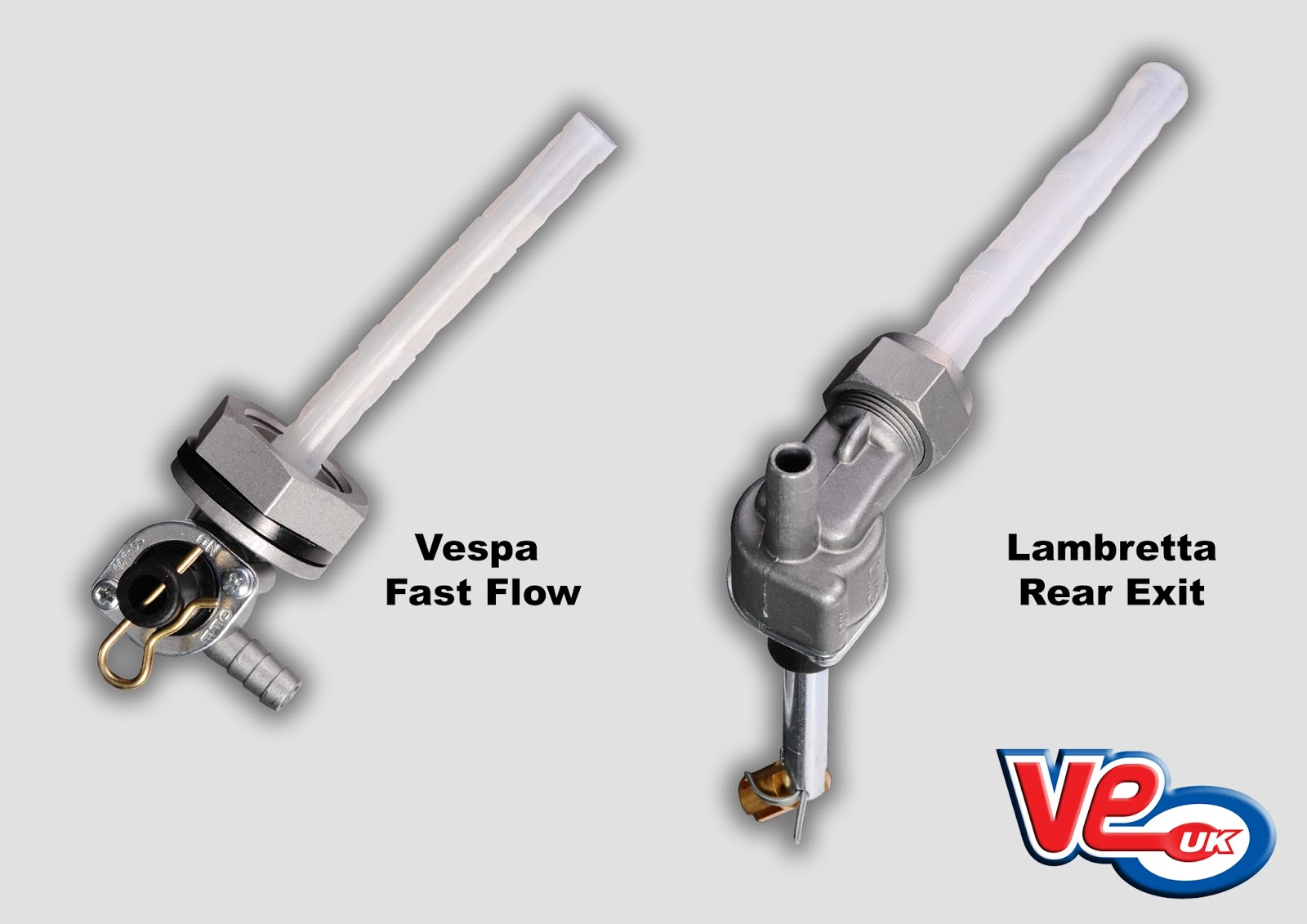 Lambretta and Vespa Fast Flow Fuel Taps
