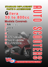 2018 Gilera auto std cover
