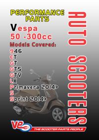 Auto PERF Vespa cover