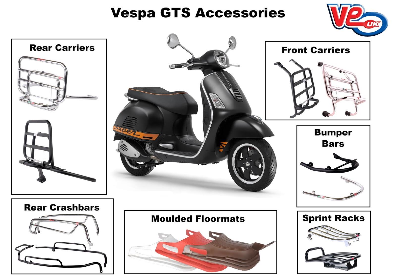 Vespa GTS Accessories
