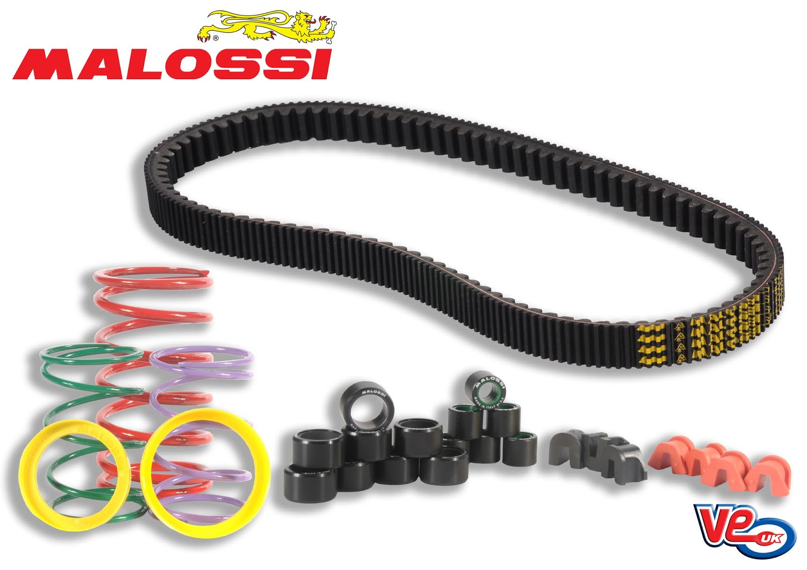 Refresh Your Transmission With Malossi Belts & Rollers