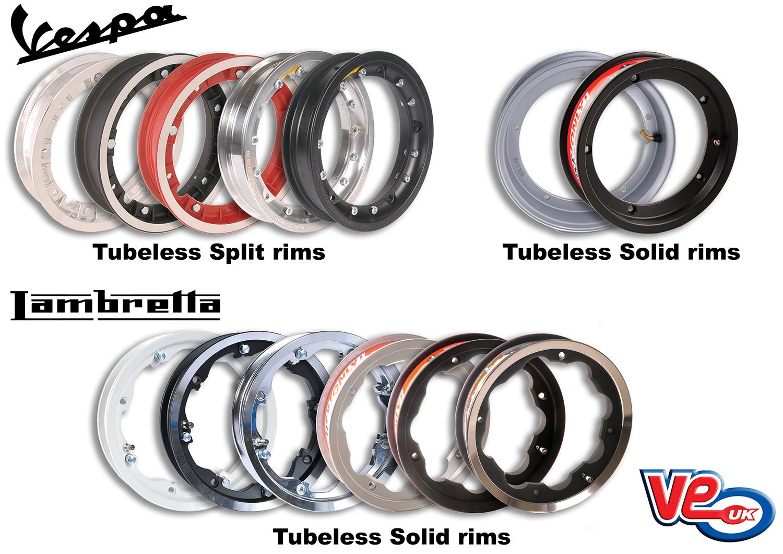 Tubeless Alloy Wheel Rims