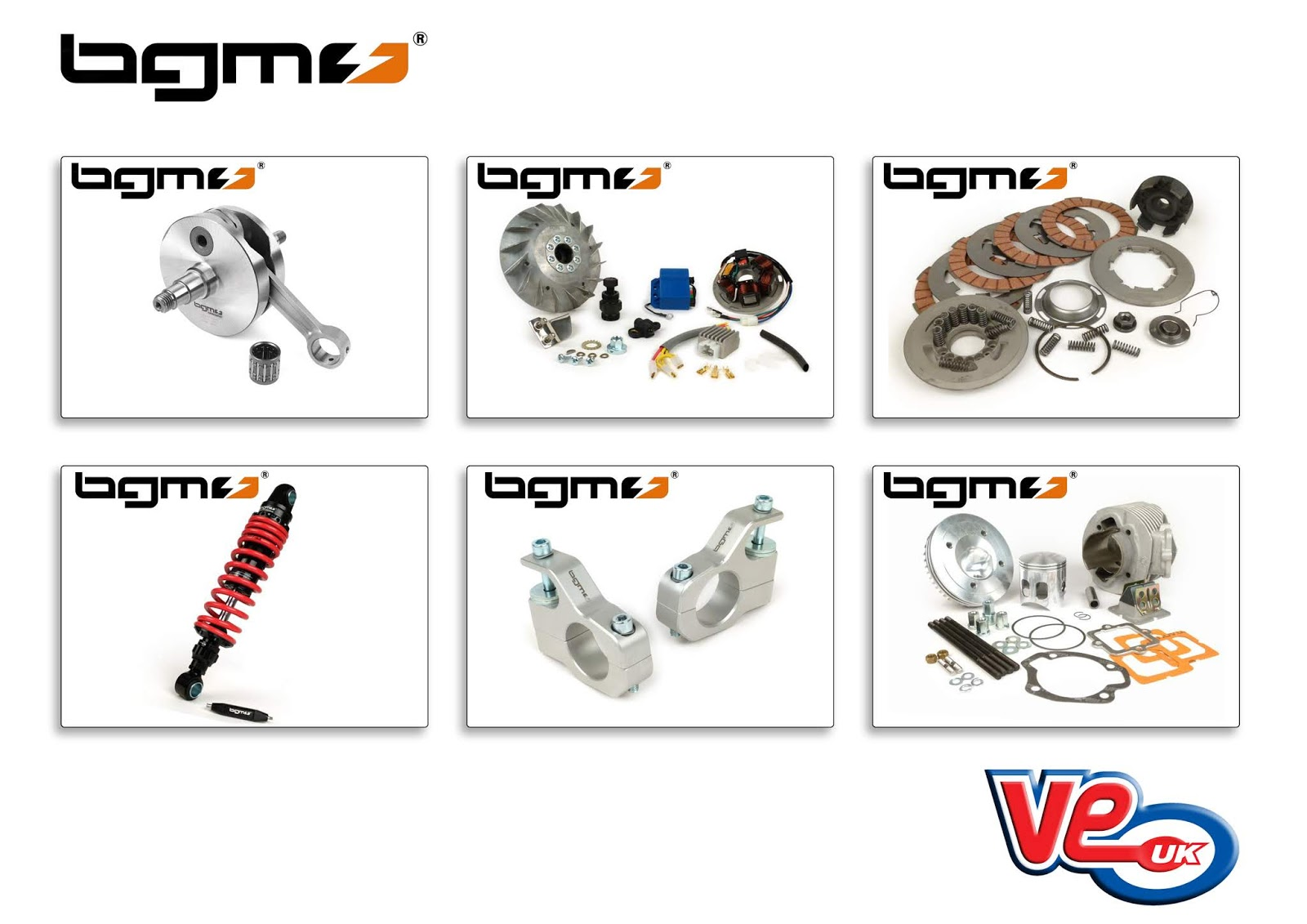 BGM Scooter Parts Now Available from VE (UK)