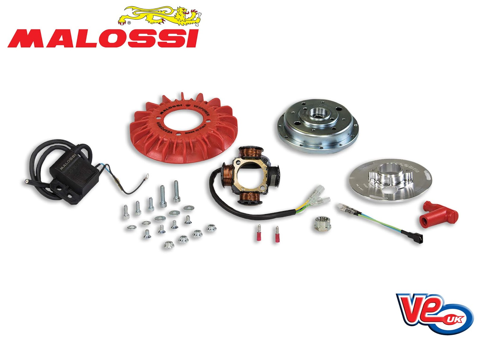 Malossi Vespa PX Vespower Ignition Kits