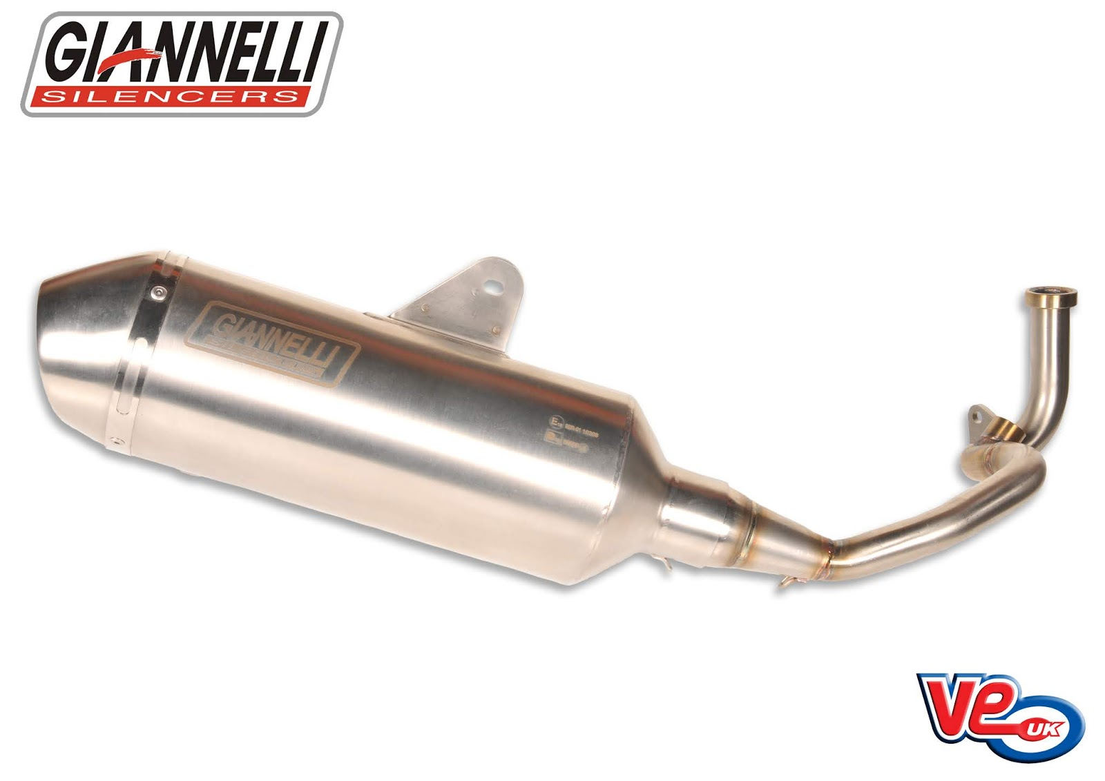 Giannelli G-4 Exhausts for Vespa GTS 125 and Primavera 125