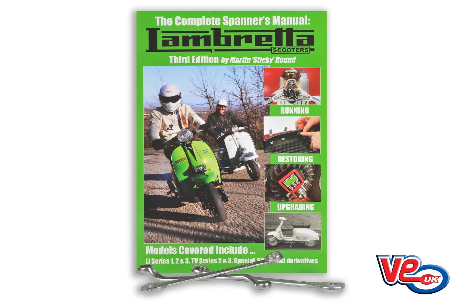 Spanners Lambretta Workshop Manual 3rd Edition