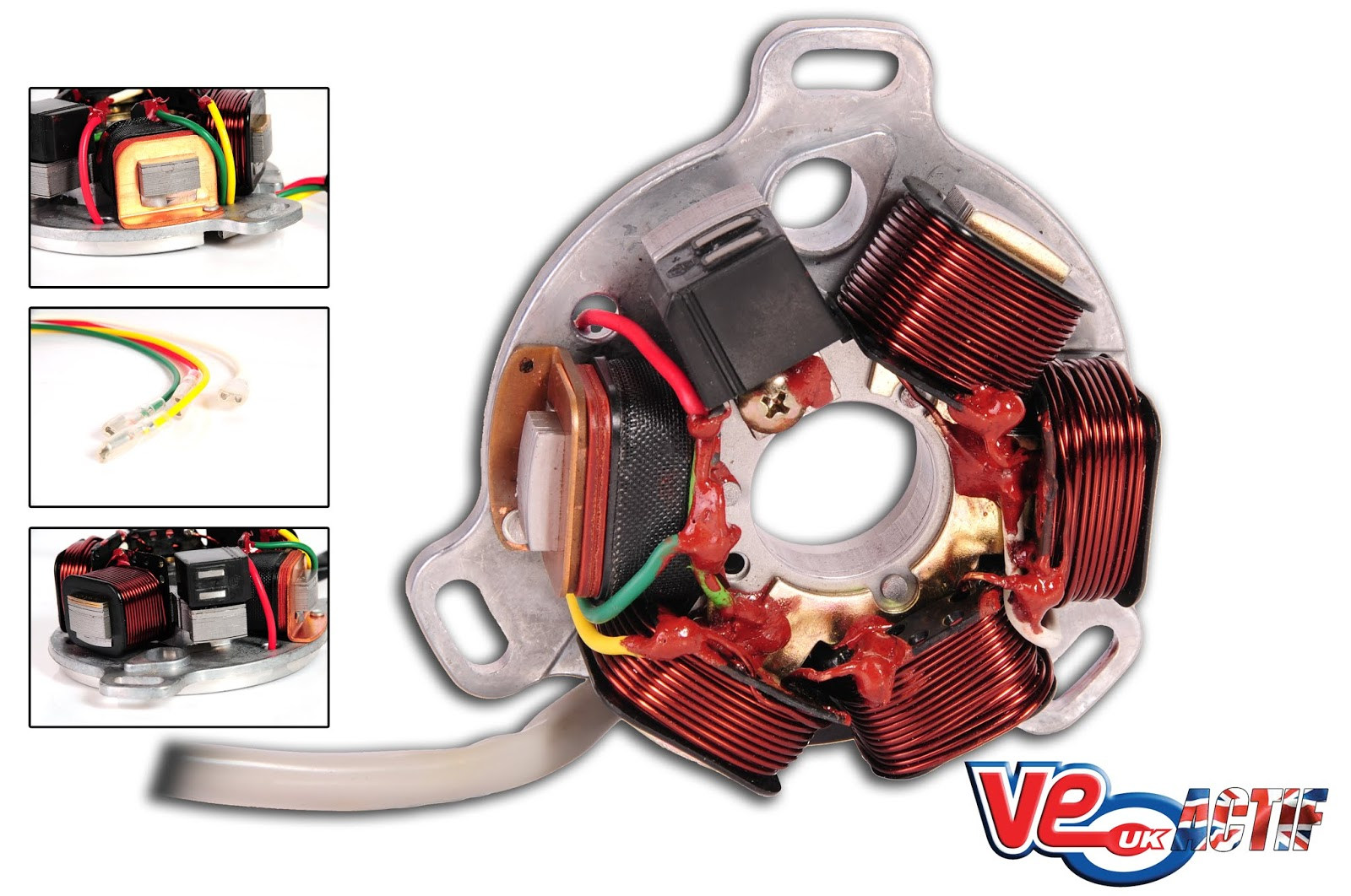 VE Actif Lambretta 12v AC Stator Plates