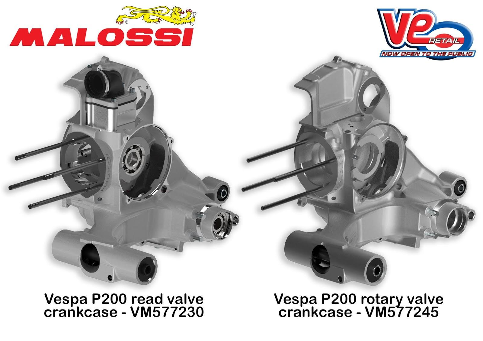 Malossi Vespa PX200 Crankcases