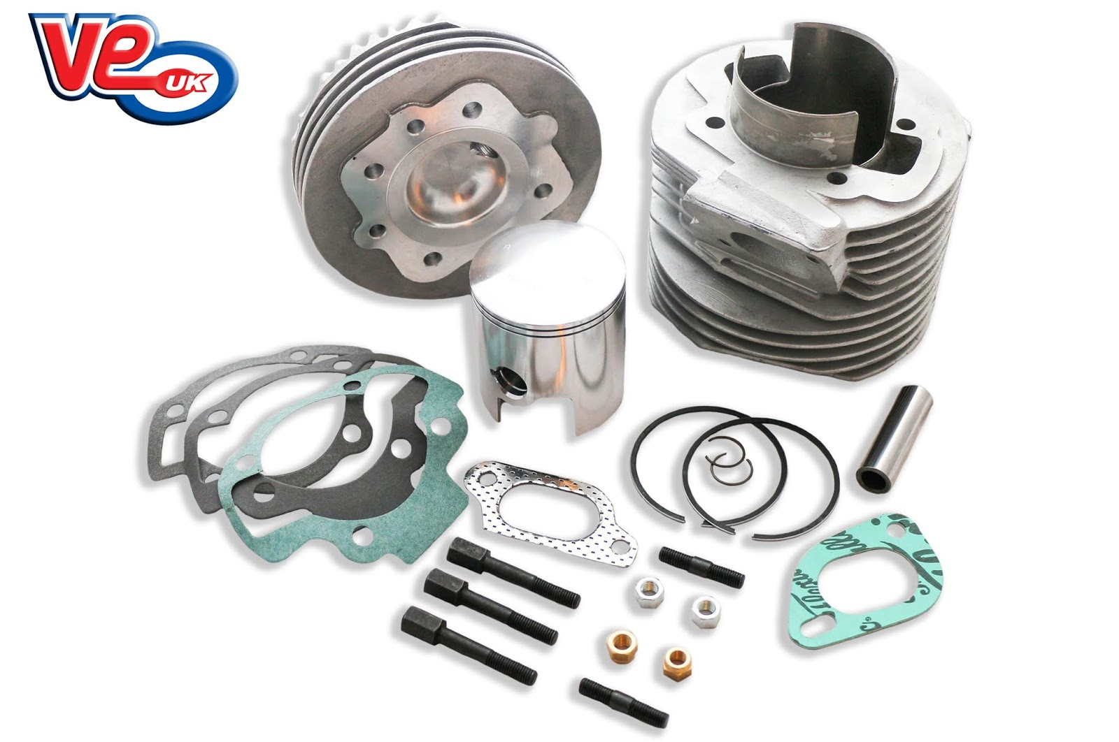 Lambretta GP/SX/TV 200 Mugello 200cc Cylinder Kit