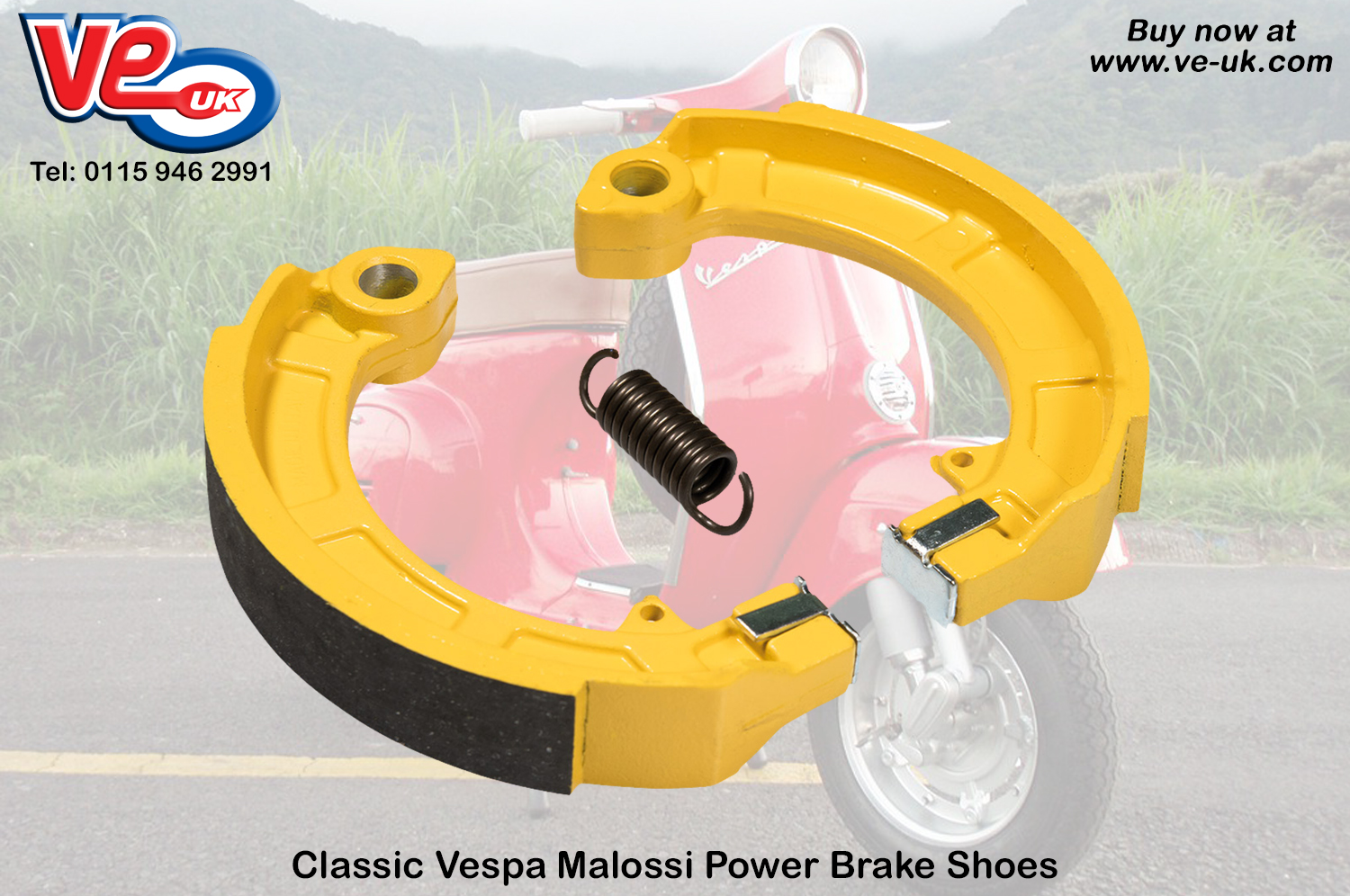malossi power brake shoes