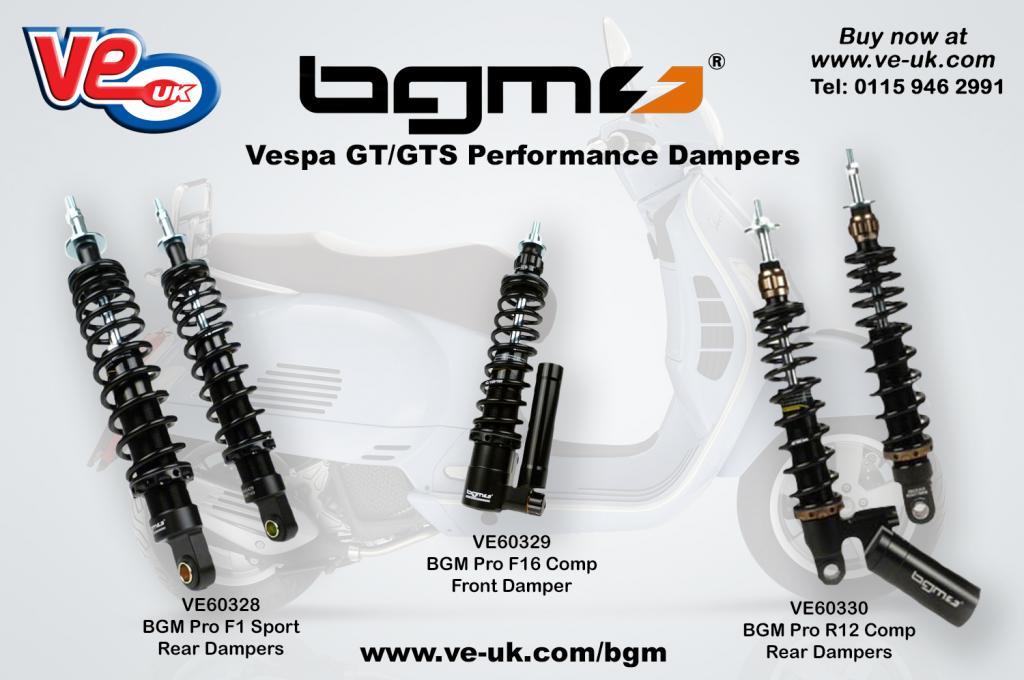 Vespa GT-GTS BGM dampers