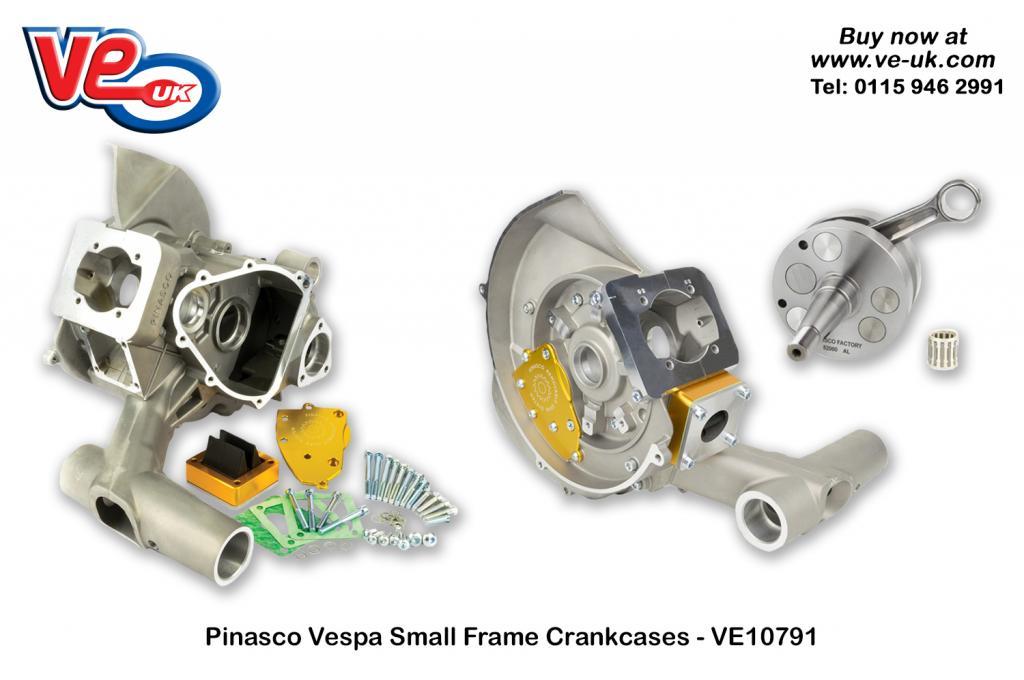 Vespa Small frame crankcases